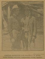 Captain Bankston and Mayor T. D. Kemp