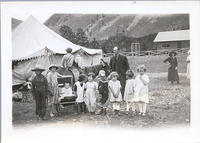 Children at Montana conference