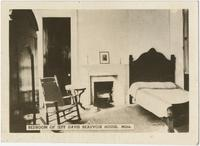 Bedroom of Jeff Davis Beauvoir House