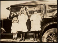 Three girls and a car