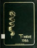 T-Wave yearbook 1986 with U-Wave Edition