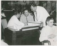 Huey Long with Harvey Peltier and Jimmie Noe