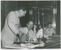 Huey Long Pouring Water