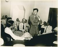 Huey Long with Arms Folded