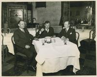 Huey Long Eating Soup
