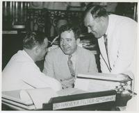 Huey Long with Peltier and Noe Close-up