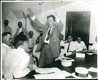 Huey Long, Arms Flailing