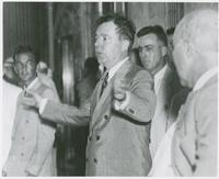Huey Long Arms Outstretched