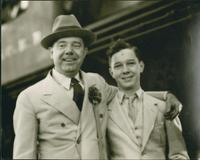 Huey and Russell Long Close-up