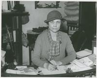 Hilda Phelps Hammond working