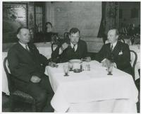 Huey Long Eating Soup Close-up