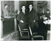 Huey Long with Hermann Deutsch