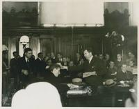 Huey and Earl Long at Overton Trial