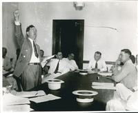 Huey Long, Fist in the Air