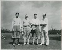 Huey Long Golfing with Group