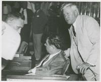 Huey Long with O.K. Allen
