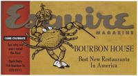 Bourbon house advertisement