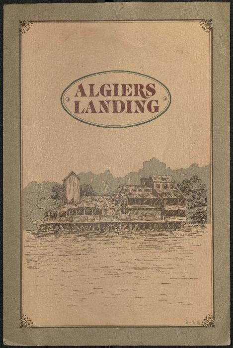 Algiers Landing Restaurant Menu