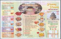 Yummy Yummy restaurant menu