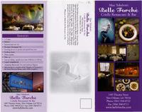 Belle Forche Criolle restaurant and bar menu