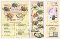 China Orchid menu