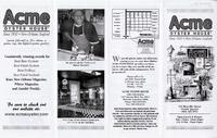 Acme oyster house menu