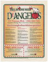 DeAngelos advertisement with coupons