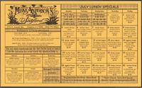 Mike Anderson's Seafood restaurant specials calendar