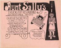 Aunt Sally's Truckstop Restaurant advertisement