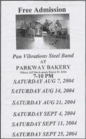 Parkway Bakery & Tavern restaurant menu