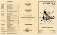 Carreta's grill menu
