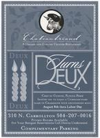 Chateaubriand turns deux flyer
