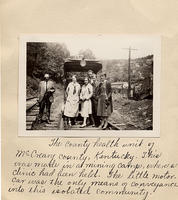 The country health unit of McCreary County, Kentucky