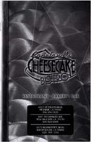 Copeland's Cheesecake Bistro menu
