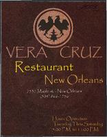 Vera Cruz restaurant advertisement