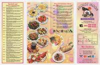 August Moon restaurant menu