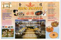 King Buffet restaurant menu