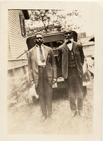 Rev. George Hinton and Dr. T. Nelson Baker