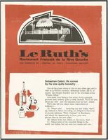 Le Ruth's newsletter