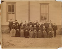 Boarding pupils at Williamsburg Kentucky, 1891