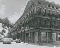 Pontalba Building, Upper. St. Peter Street at Jackson Square.