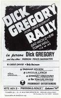 Dick Gregory for President Rally