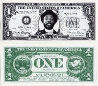 Dick Gregory Campaign Money