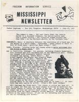 Mississippi Newsletter No. 18