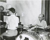 Johnny McGee and Katz Maestri playing with Albert Artigues