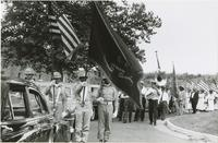 Wilbert Tillman and Peter Bocage playing for a Memorial Day parade