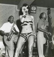 Meyer Kennedy and shake dancer at the Caravan club