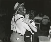 Couple dancing at fish fry