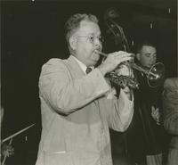 Johnny Wiggs and Sherwood Mangiapane playing at a New Orleans Jazz Club Meeting
