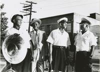 Wilbert Tillman, Emile Knox, and Joe Avery